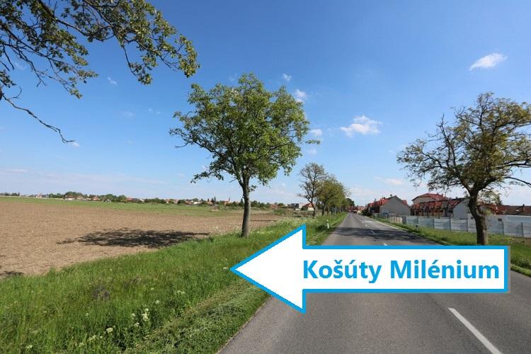 MILENIUM KOŠÚTY Stavebný pozemok /od 415 do 975 m2/ v novej lokalite v obci Košúty, okres Galanta. Výstavba v r.2018. 40 € /m2