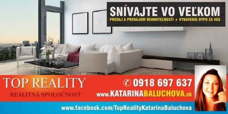 Katarina Baluchova  0918697637     TopReality Galanta www.katarinabaluchova.sk