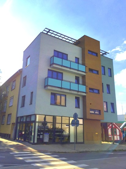 2 izbový moderný byt 64,50 m2 – NOVOSTAVBA centrum Galanta 77.400  €