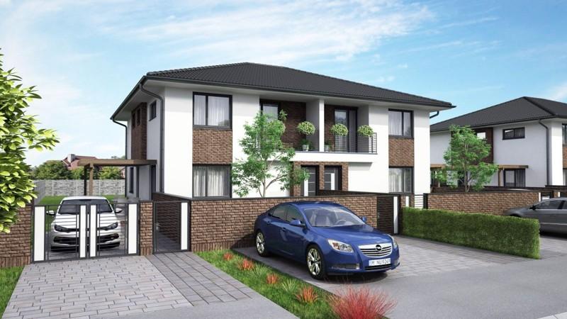 NOVOSTAVBA 3 izbový byt (75 m2) s vlastnou záhradou (od 200 m2), terasa (16 m2) a vlastným parkoviskom pre 2 autá v obci Dolný Bar, 5 km od mesta Dunajská Streda 70.000 €