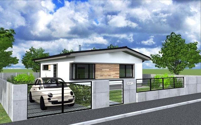 NOVOSTAVBA 3 izbový rodinný dom, 84 m2, pozemok od 415 m2, Košúty – Millenium, 82.000 € (výstavba a dokončenie v r.2018)