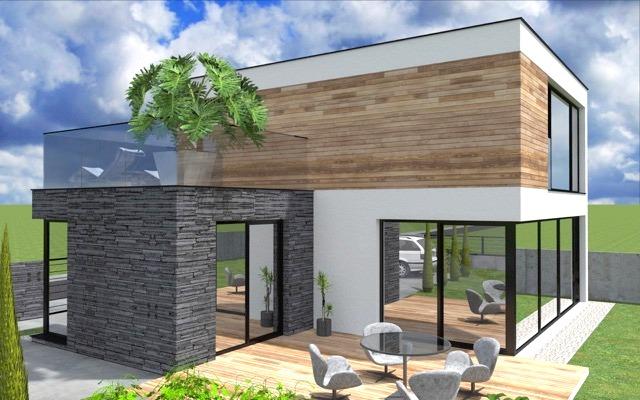 MODERNÁ NOVOSTAVBA 4 izbový rodinný dom, 139 m2, pozemok 401 m2, Košúty (vo výstavbe, dokončenie leto 2018)