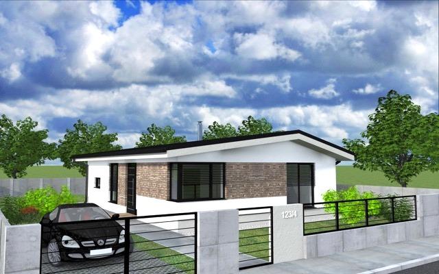 NOVOSTAVBA 4 izbový rodinný dom, 100 m2, pozemok od 415 m2, Košúty – Millenium, 90.000 € (výstavba a dokončenie v r.2018)