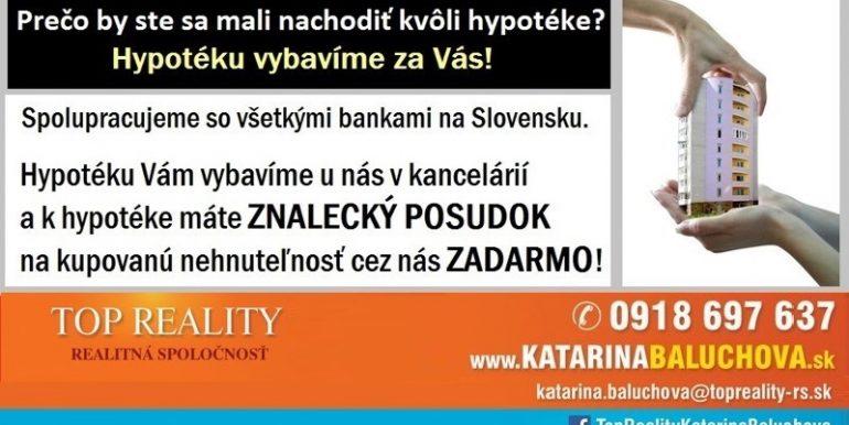 Katarina Baluchova Hypotéka 0918 697 637 www.katarinabaluchova.sk