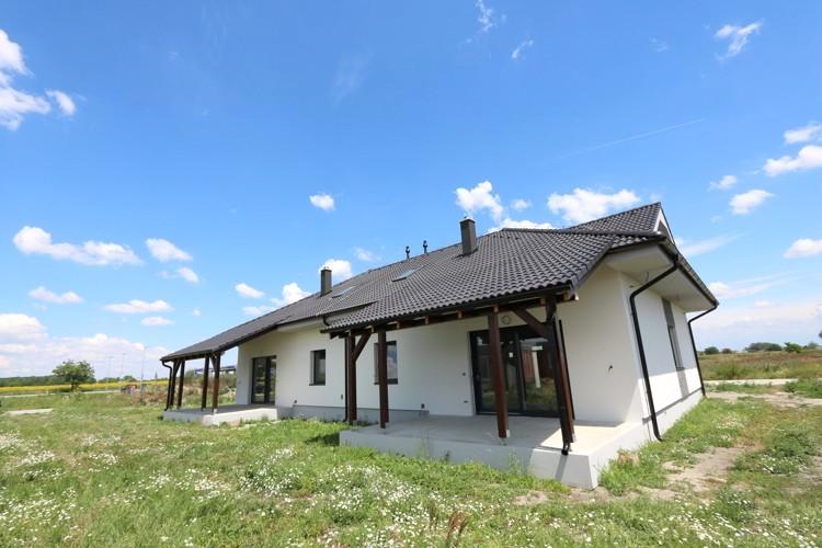 NOVOSTAVBA 5 izbový rodinný dom (175 m2) pozemok 480 m2, Veľké Úľany, časť Ekoosada