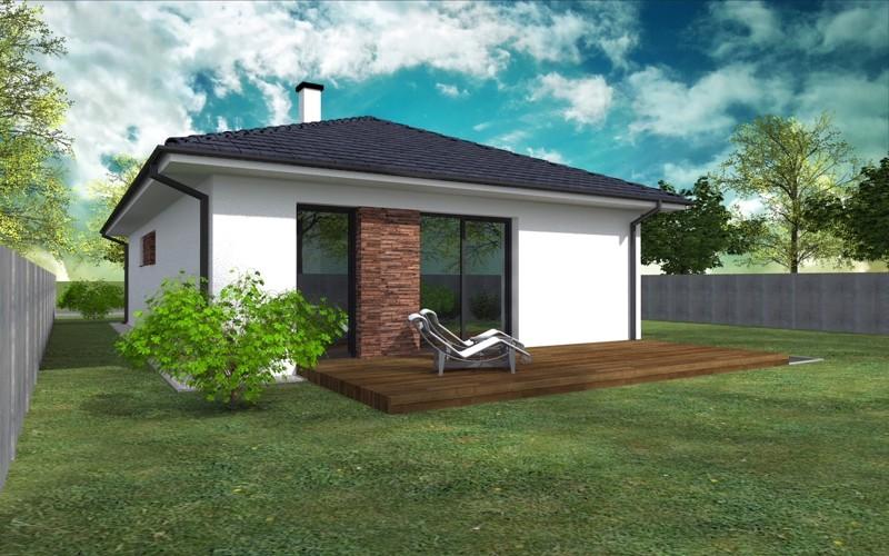 NOVOSTAVBA 4 izbový rodinný dom, 119 m2 terasa 28 m2, pozemok od 415 m2, Košúty – Millenium (výstavba a dokončenie v r.2018)