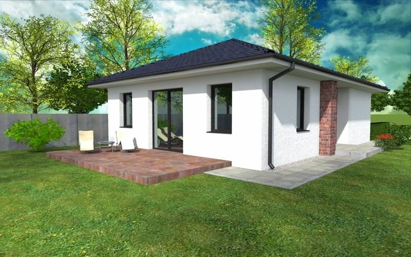 NOVOSTAVBA 3 izbový rodinný dom, 92 m2 , pozemok od 415 m2, Košúty – Millenium (výstavba a dokončenie v r.2018)