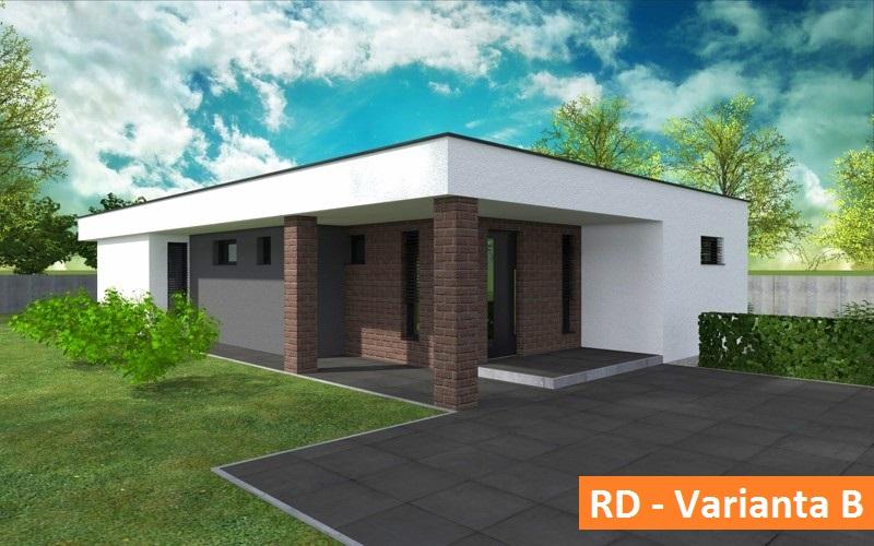 MODERNÁ NOVOSTAVBA 4 izbový rodinný dom, 122 m2, pozemok 500 m2, Košúty – Millenium, 108.000 € (výstavba a dokončenie v r.2018)