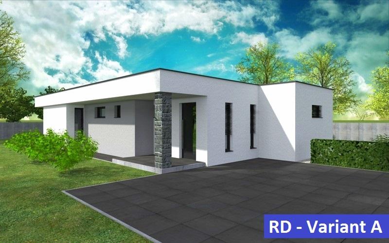 MODERNÁ NOVOSTAVBA 4 izbový rodinný dom, 122 m2, pozemok 500 m2, Košúty – Millenium, 104.000 € (výstavba a dokončenie v r.2018)