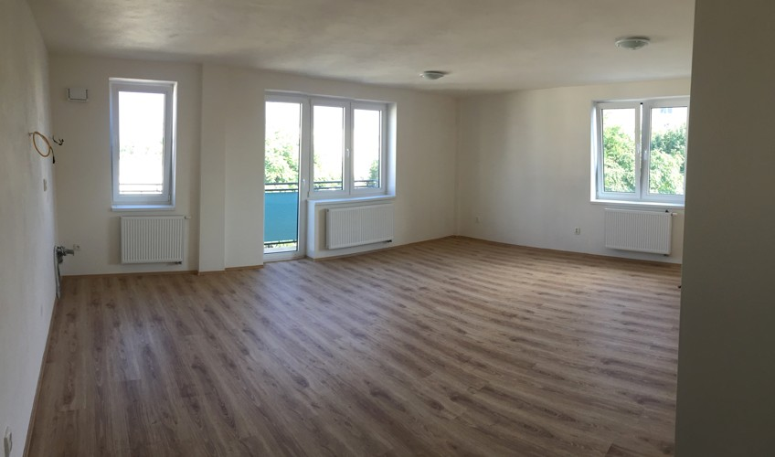 NOVOSTAVBA 2 izbový byt 64,50 m2 + balkón + terasa 32,97 m2 (spolu 97,50 m2) centrum Galanta 117.000 €