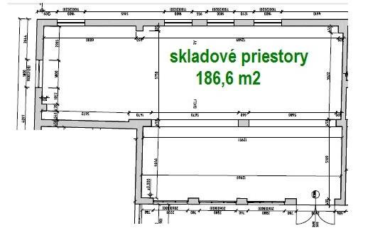 1 Výrobné a skladové priestory