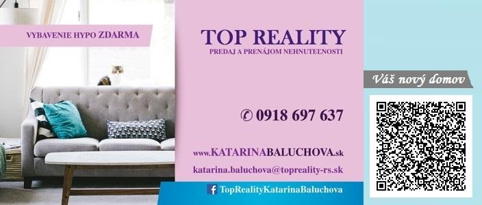 www.KatarinaBaluchova.sk 0918697637