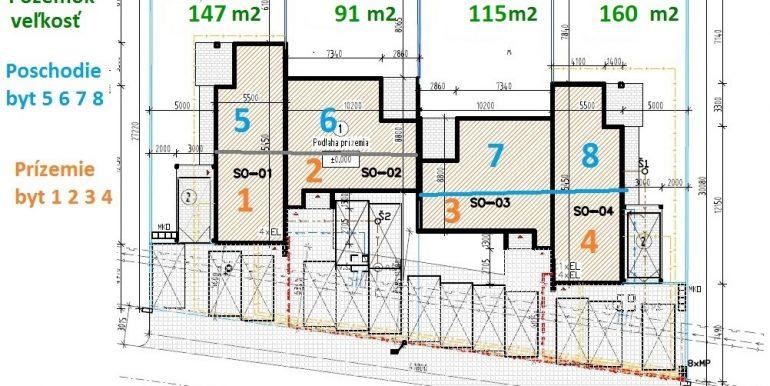 4 Koordinačná situácia byty